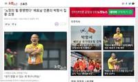 韩国媒体赞扬朴恒绪教练