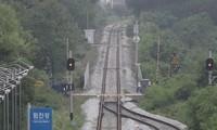韩朝联合考察朝鲜东部线路