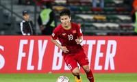 2019年阿联酋亚洲杯:越南球员光海当选小组赛首轮表现最佳球员