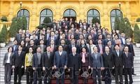 阮富仲出席国家主席办公厅2018年工作总结会议