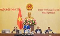 越南国会常务委员会第31次会议举行