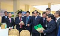朝鲜劳动党代表团访问越南农业科学院