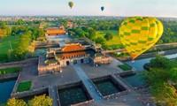 五个国家参加2019年顺化国际热气球节