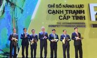 广宁省连续第二年在省级竞争力指数排名中居首位