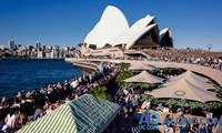 赴澳大利亚的亚洲游客创新纪录