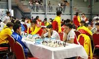 越南队在东南亚国际象棋锦标赛上取得优异成绩