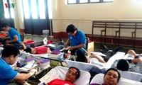 林同省积极开展无偿献血活动
