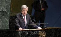 联合国秘书长呼吁采取行动应对气候变化