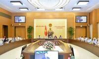 越南国会常委会第35次会议闭幕