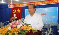 越南政府副总理张和平视察西宁省