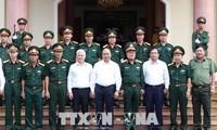 នាយករដ្ឋមន្ត្រីវៀតណាម លោក Nguyen Xuan Phuc ទៅទស្សនានៅកងពលលេខ១៦នៅខេត្ត Binh Phuoc