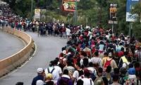 ជនចំណាកស្រុក Honduras បន្តលំហូរទៅកាន់ម៉ិកស៊ិកដើម្បីសម្រុកចូល សហ រដ្ឋអាមេរិក