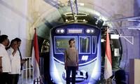 រថភ្លើងក្រោមដី MRT ដោះស្រាយបញ្ហាកកស្ទះចរាចរណ៍នៅទីក្រុង Jakarta