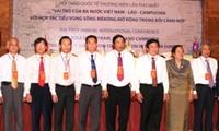 Tăng cường hợp tác khoa học kỹ thuật Việt Nam - Lào - Campuchia