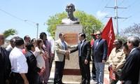 Khánh thành tượng đài Chủ tịch Hồ Chí Minh tại Dominica