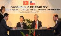 Hiệp định thương mại tự do Việt Nam-Chi Lê đã có hiệu lực