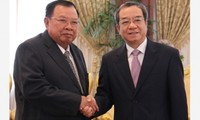 Đoàn đại biểu Văn phòng Chủ tịch nước Việt Nam thăm Lào