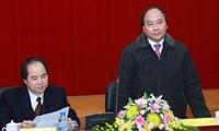 Phó Thủ tướng Nguyễn Xuân Phúc làm việc với Ban Chỉ đạo Tây Bắc