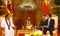 Việt Nam và Sri Lanca nhất trí thúc đẩy hợp tác trên nhiều lĩnh vực