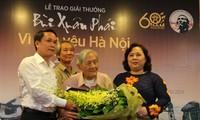 Nhà Hà Nội học 100 tuổi được trao Giải thưởng Lớn - Vì tình yêu Hà Nội