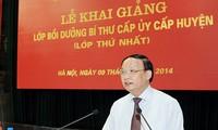 Trưởng ban Tổ chức Trung ương Tô Huy Rứa: Nâng tầm đội ngũ Bí thư cấp ủy cấp huyện