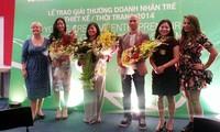 Giải thưởng Doanh nhân Sáng tạo Trẻ vinh danh nhà thiết kế thời trang