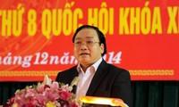 Đoàn đại biểu Quốc hội tỉnh Thái Bình và Bình Thuận tiếp xúc cử tri
