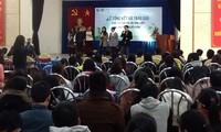 Trao giải cuộc thi tuổi trẻ sáng kiến vì mục tiêu môi trường bền vững