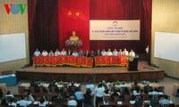 Bế mạc Hội nghị Ủy ban Trung ương Mặt trận Tổ quốc Việt Nam lần thứ 2, khóa 8