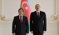 Đại sứ Việt Nam tại Cộng hòa Azerbaijan trình Quốc thư