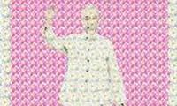 Sắp trưng bày tranh chân dung Chủ tịch Hồ Chí Minh kết từ hoa sen