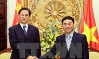 Tỉnh trưởng tỉnh Vân Nam, Trung Quốc Trần Hào thăm Việt Nam