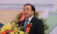Phó Thủ tướng Hoàng Trung Hải đánh giá cao dự án công nghệ của Hàn Quốc tại Hà Nam