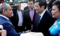 Chủ tịch nước Trương Tấn Sang bắt đầu thăm chính thức Azerbaijan