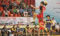 Việt Nam thắng lớn tại giải bóng ném vô địch Đông Nam Á 2015