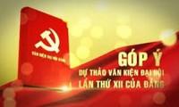 Kiều bào đóng góp vào dự thảo văn kiện Đại hội XII của Đảng