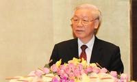 Diễn văn của Tổng Bí thư tại Lễ kỷ niệm 70 năm Ngày Tổng tuyển cử đầu tiên bầu ra Quốc hội VN