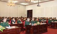 Quân ủy Trung ương gặp mặt đại biểu Quân đội dự Đại hội XII của Đảng