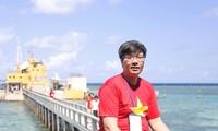Mong muốn đem tiếng nói về chủ quyền biển đảo Việt Nam đến đông đảo bạn bè Hàn Quốc và quốc tế