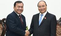 Đại sứ Campuchia tại Việt Nam Hul Phany kết thúc nhiệm kỳ công tác