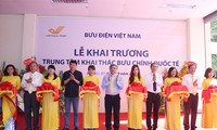 Khai trương Trung tâm Khai thác bưu chính quốc tế tại Hà Nội