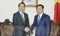 Việt Nam mong muốn Ngân hàng Kbank (Thái Lan) hỗ trợ tài chính