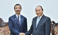Thủ tướng Nguyễn Xuân Phúc tiếp Chủ tịch Tập đoàn DP World, Các Tiểu vương quốc Ả-rập Thống nhất