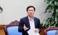 Phó Thủ tướng Chính phủ Vương Đình Huệ làm việc với Ban chỉ đạo điều hành giá