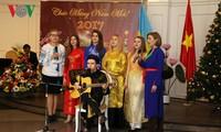 Đại sứ quán Việt Nam tại Ucraina tổ chức gặp mặt nhân dịp những ngày lễ lớn và đón năm mới 2017