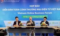 """Diễn đàn """"Toàn cảnh thương mại điện tử Việt Nam"""" sẽ được tổ chức ở Hà Nội và TP Hồ Chí Minh"""