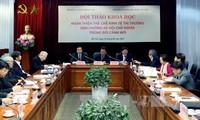 Đẩy mạnh hoàn thiện thể chế kinh tế thị trường định hướng xã hội chủ nghĩa tại Việt Nam