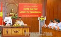 Thủ tướng Nguyễn Xuân Phúc: Nỗ lực đưa du lịch Khánh Hòa đóng góp từ 15-20% vào tổng GDP địa phương
