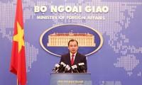 Việt Nam quan ngại trước việc CHDCND Triều Tiên phóng thử các tên lửa đạn đạo