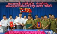 Đẩy mạnh hợp tác giữa Công an Sơn La và Công an các tỉnh Bắc Lào